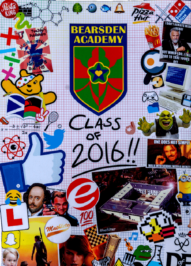 Example of Civic School Yearbook