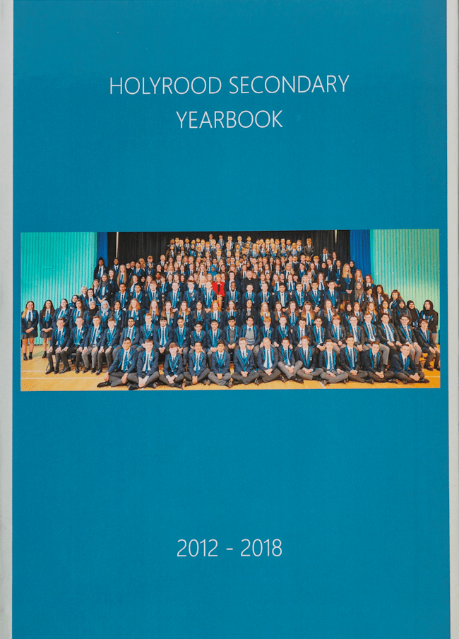 Hardback Yearbook with Dustcover